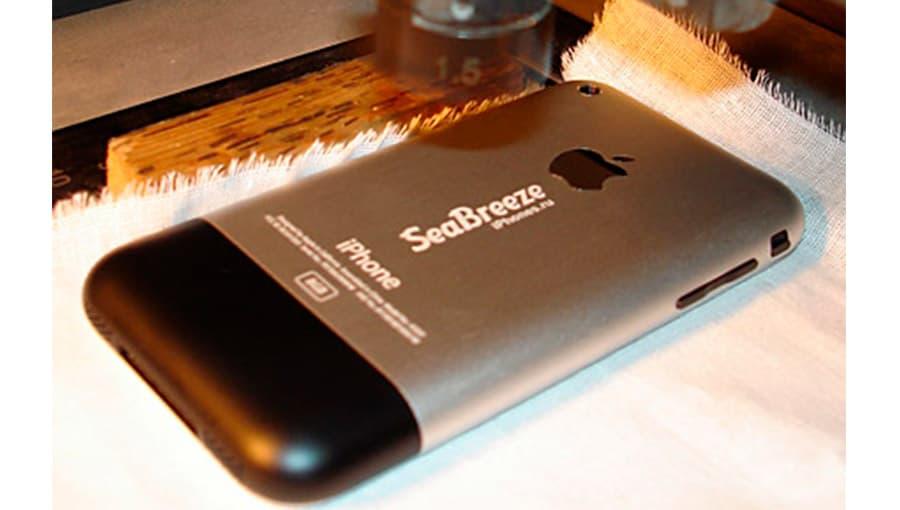 Гравировка на задней крышке iPhone