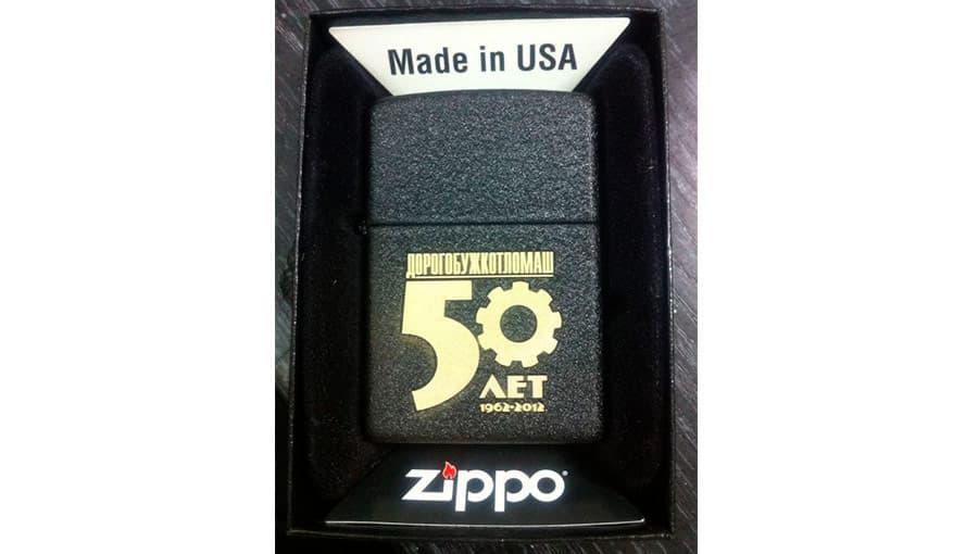 Гравировка на зажигалке Zippo